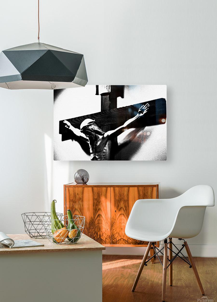 Savior 1  HD Metal print with Floating Frame on Back