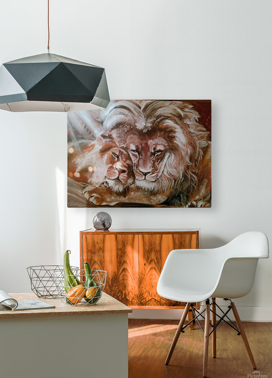 Leos.Fondness  HD Metal print with Floating Frame on Back