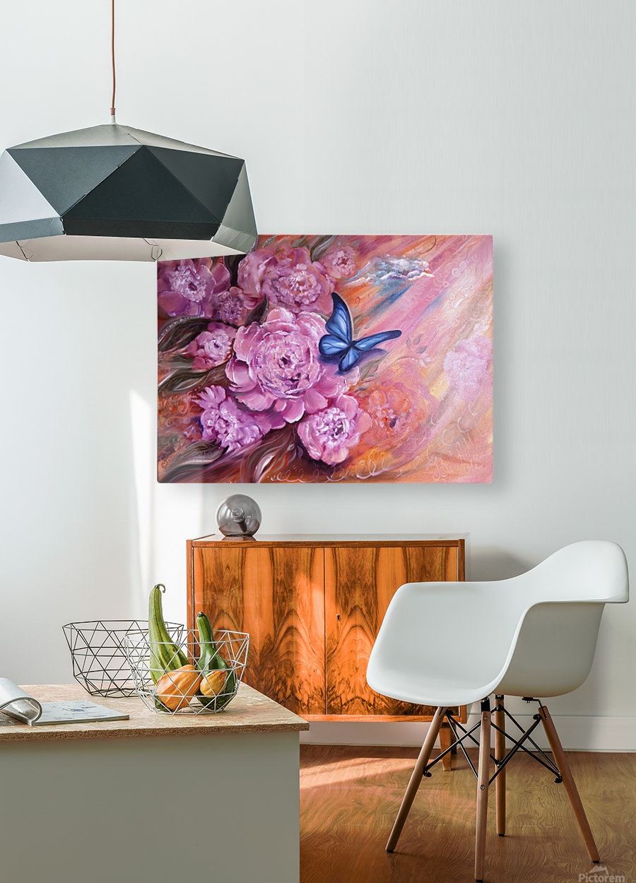 Flowers. Beauty.  HD Metal print with Floating Frame on Back