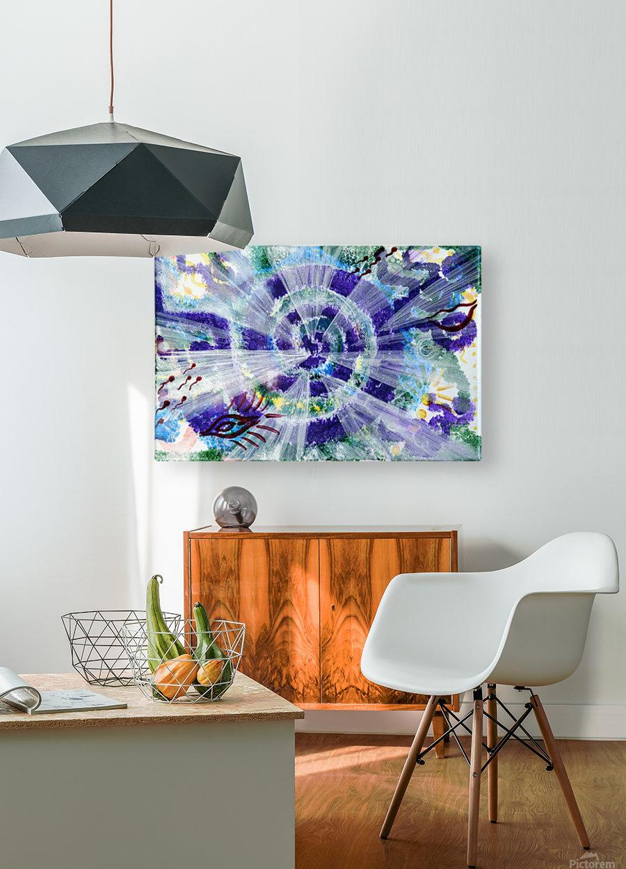 Implementation  HD Metal print with Floating Frame on Back