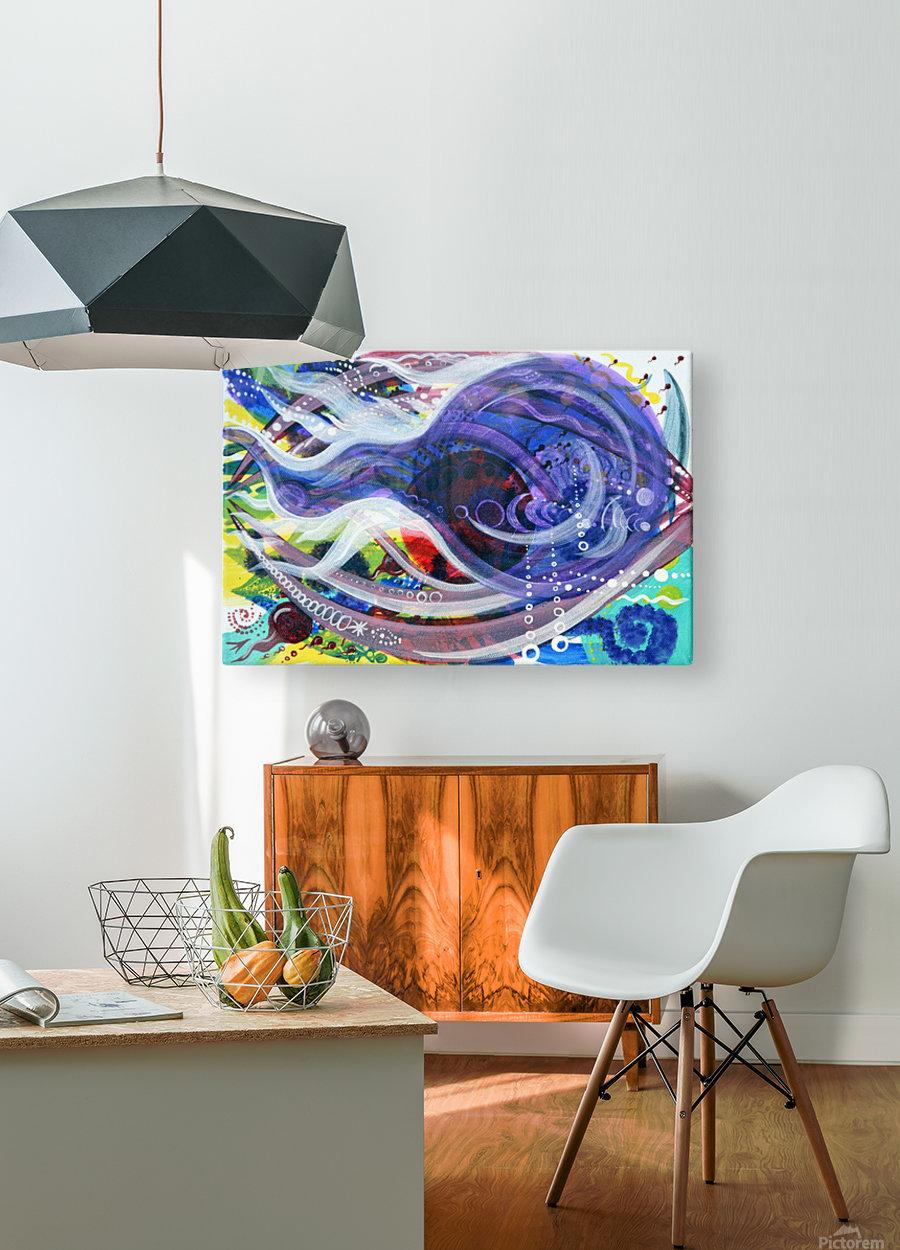V DOBRYI PUTь  HD Metal print with Floating Frame on Back