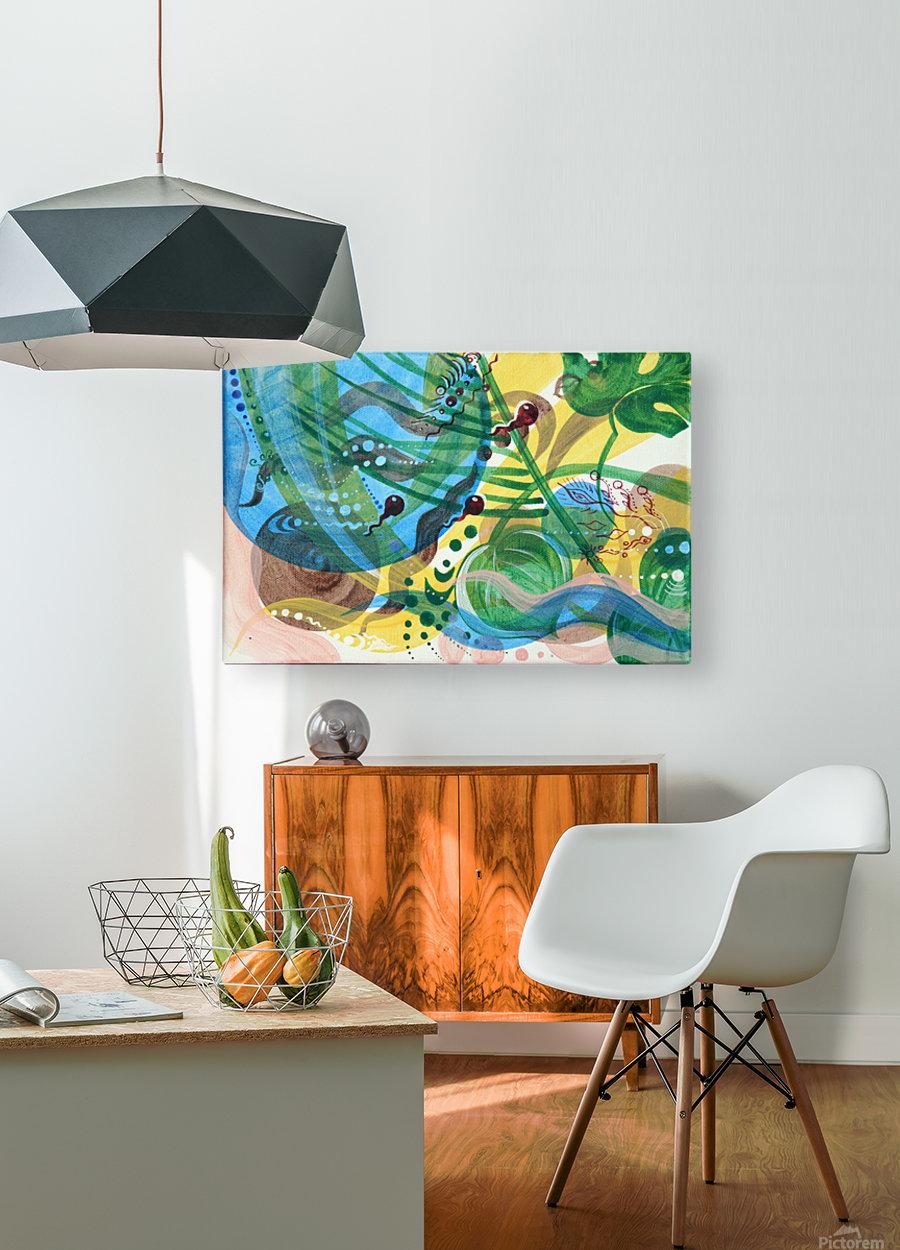 GARMONIY  HD Metal print with Floating Frame on Back