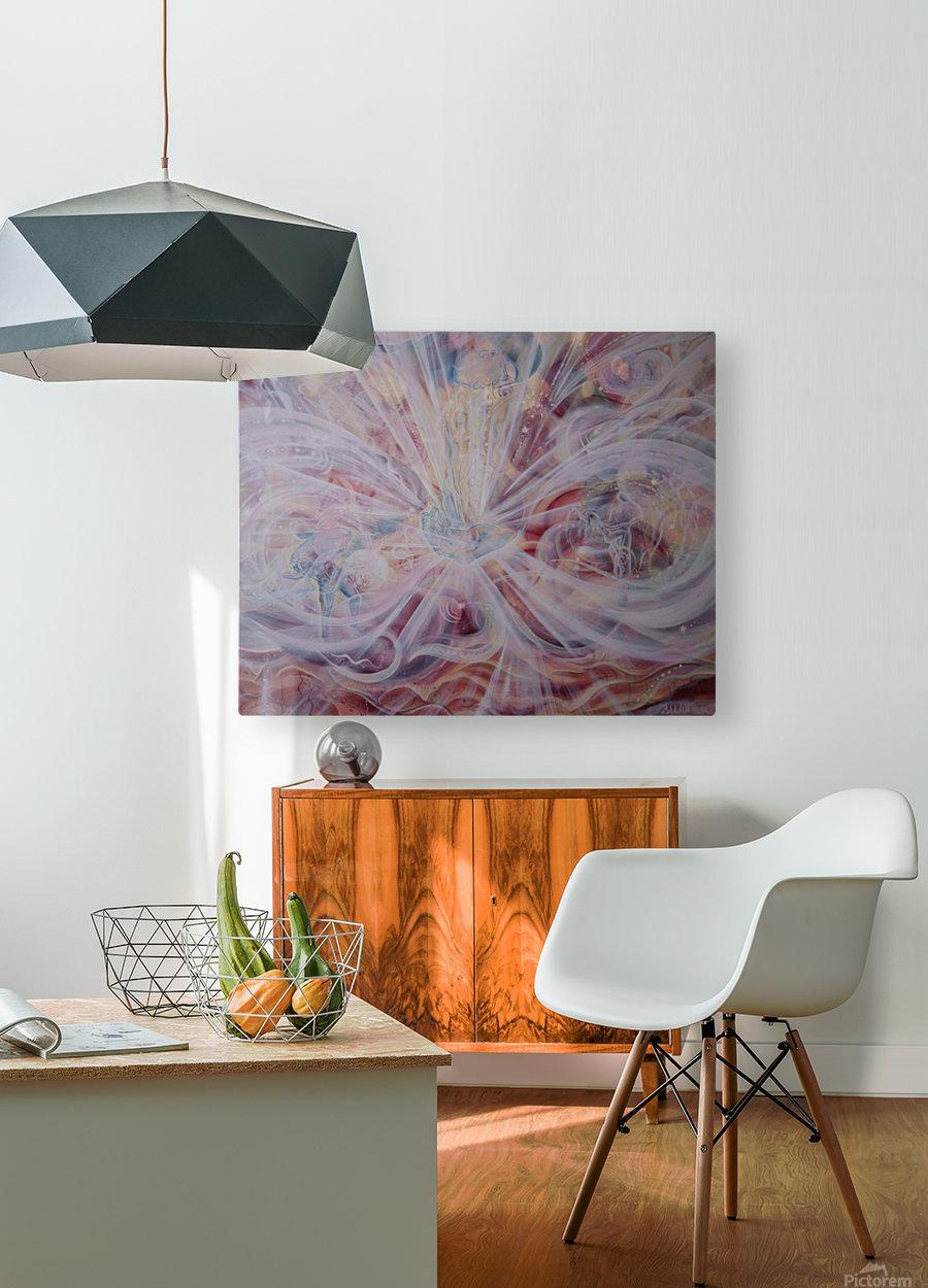 Joy  HD Metal print with Floating Frame on Back