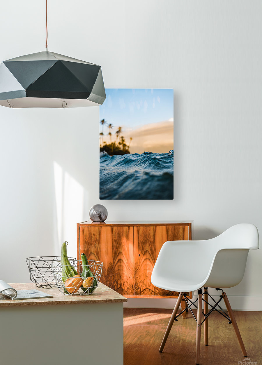 At Sea  HD Metal print with Floating Frame on Back