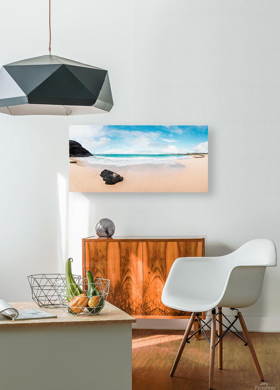 Kauai Paradise  HD Metal print with Floating Frame on Back