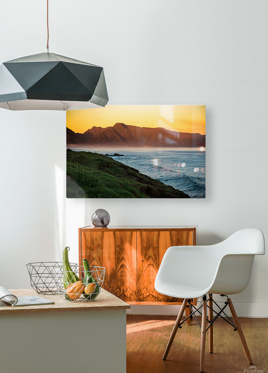 Beauty of Maui  HD Metal print with Floating Frame on Back