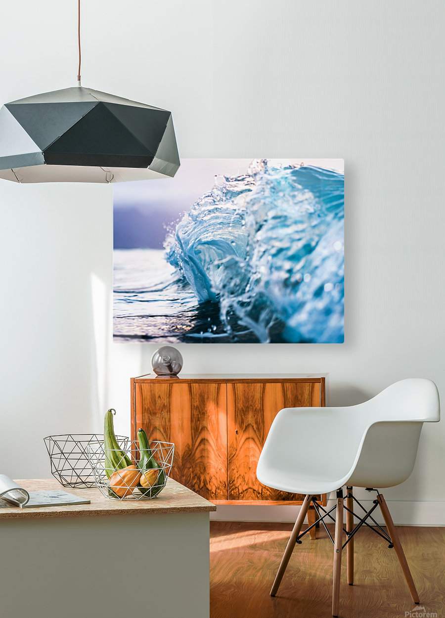 Beauty in Chaos  HD Metal print with Floating Frame on Back