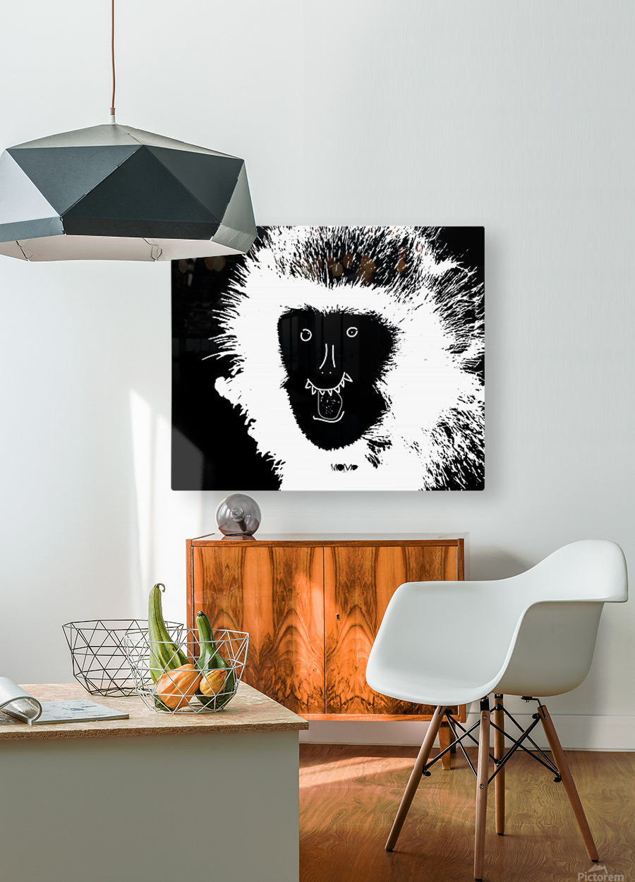 MOMO by dePace  HD Metal print with Floating Frame on Back