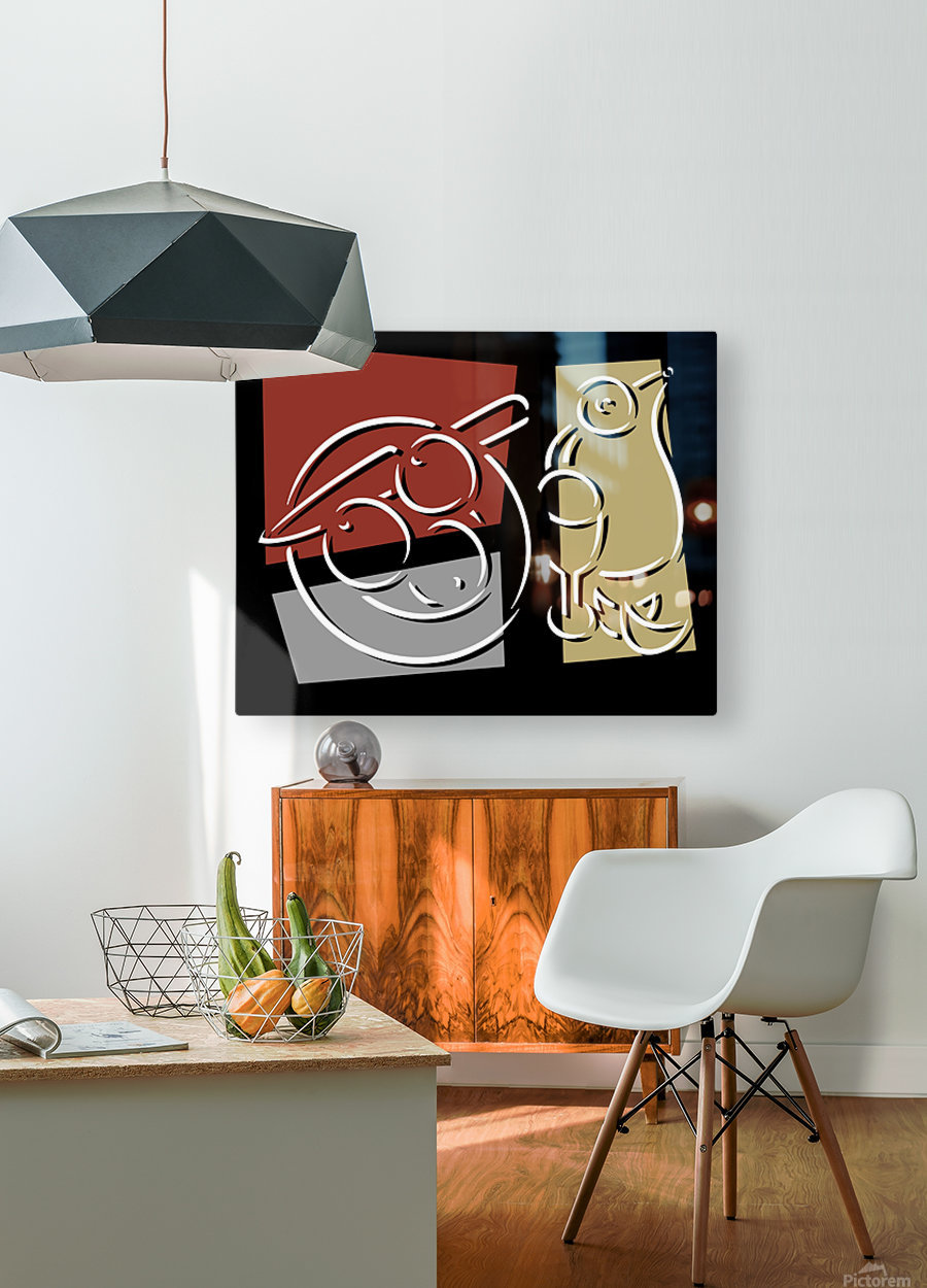 Still Life 1  HD Metal print with Floating Frame on Back