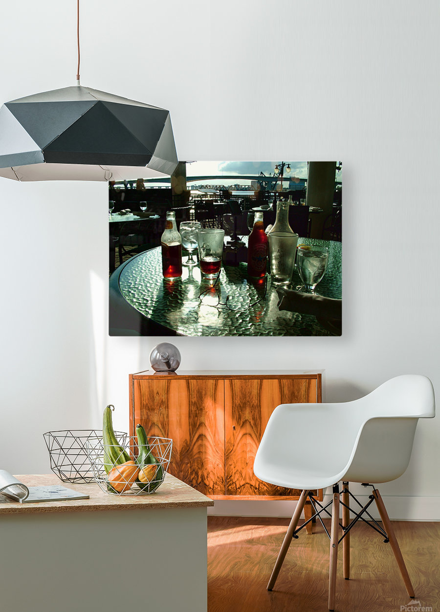 DSCF0858  HD Metal print with Floating Frame on Back