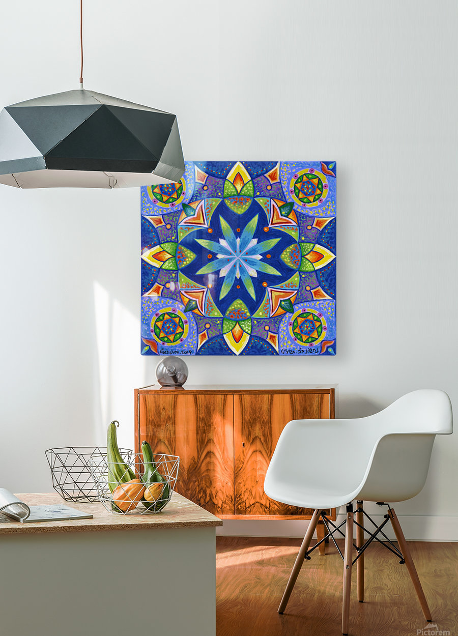 2019 04  HD Metal print with Floating Frame on Back