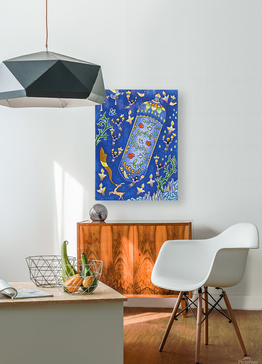 2018 067  HD Metal print with Floating Frame on Back