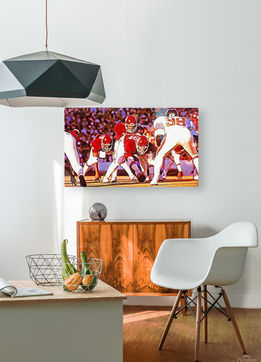 1981 Bedlam Action  HD Metal print with Floating Frame on Back