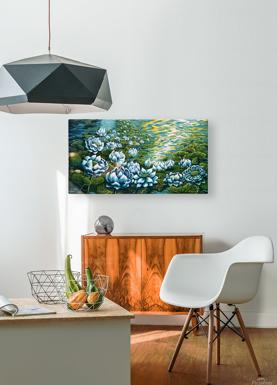 Dreaming  HD Metal print with Floating Frame on Back