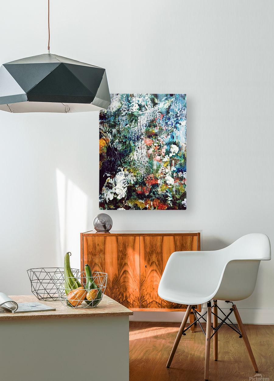 Eden  HD Metal print with Floating Frame on Back