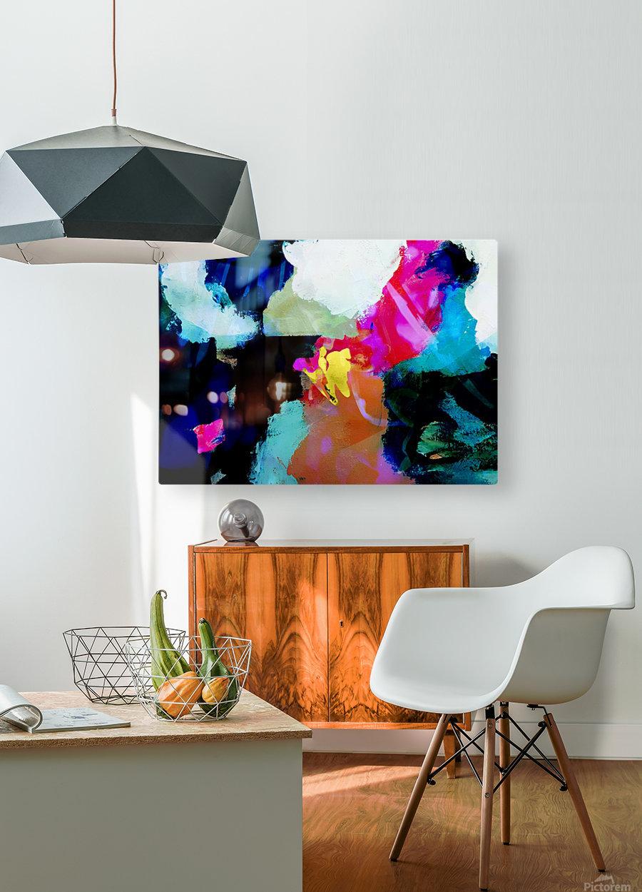Natural Beauty  Impression métal HD avec cadre flottant sur le dos