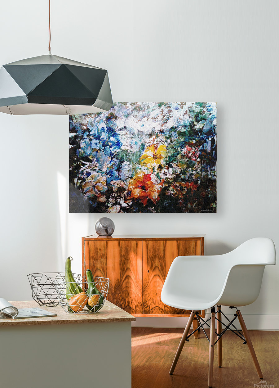 Open Window  HD Metal print with Floating Frame on Back