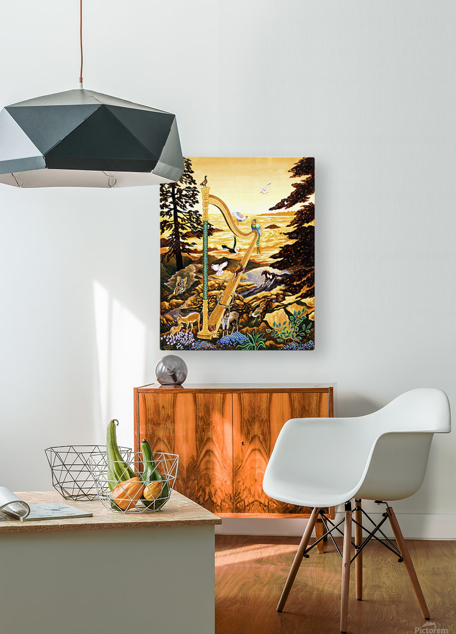 2003 014  HD Metal print with Floating Frame on Back