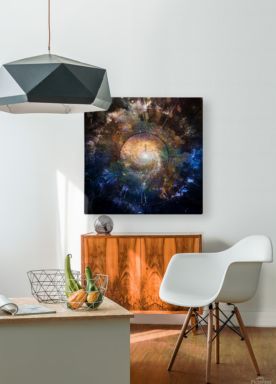 The Path to Eternity  HD Metal print with Floating Frame on Back