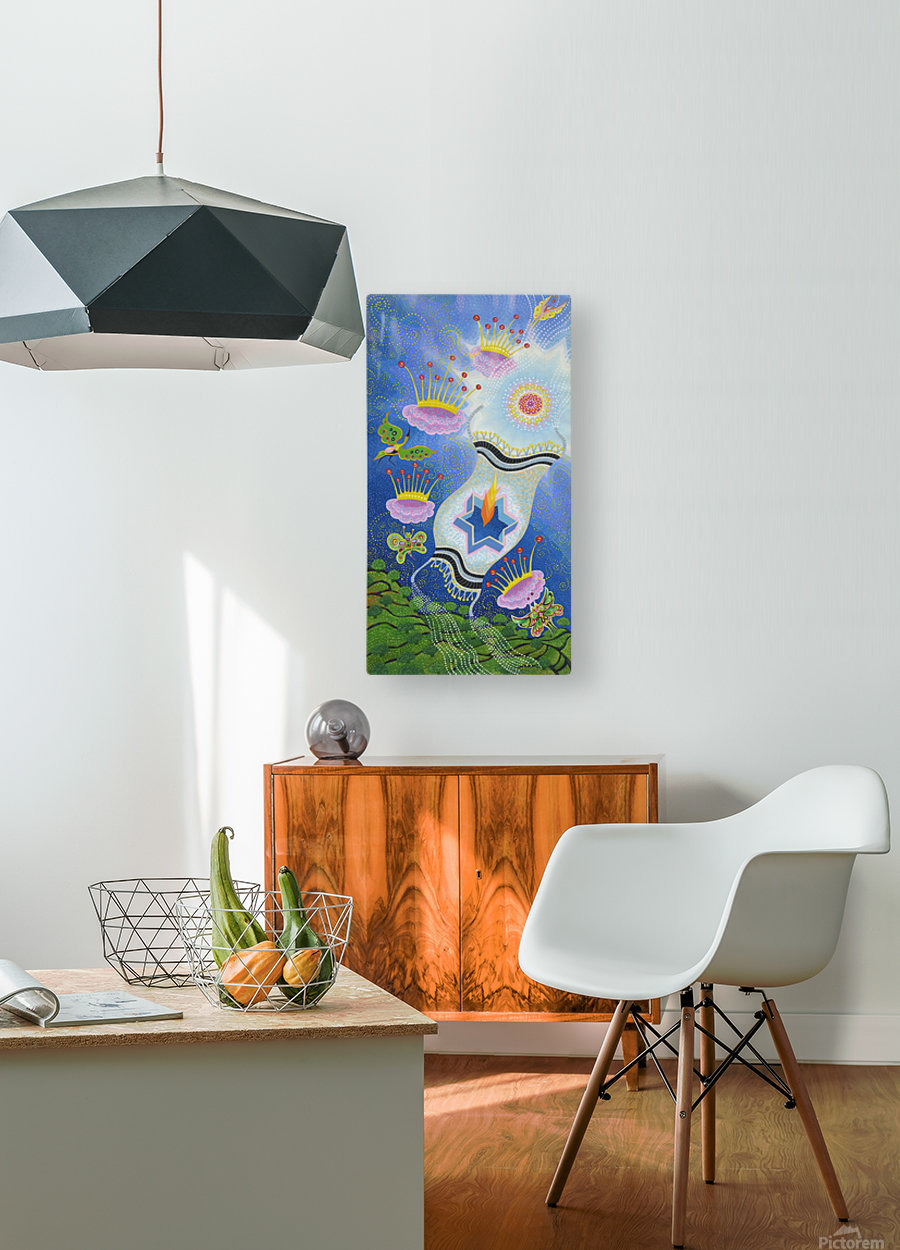1989 017  HD Metal print with Floating Frame on Back