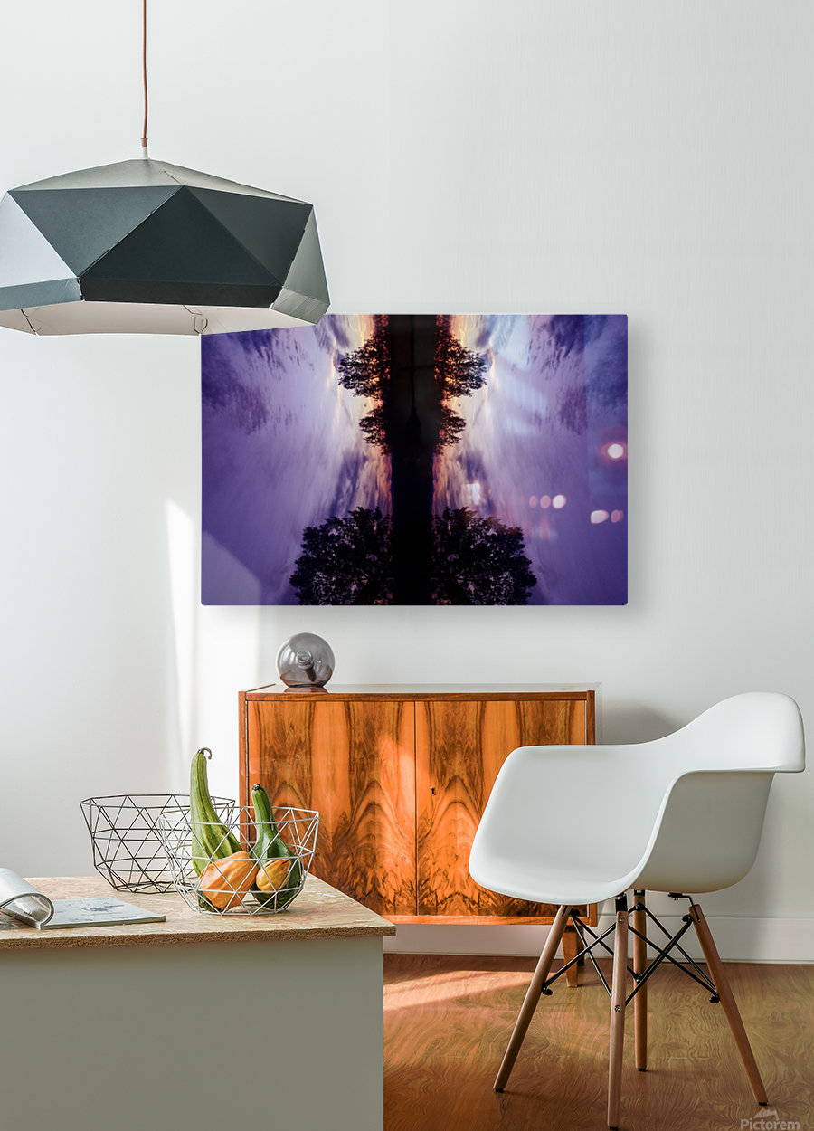 Cloudes 82  HD Metal print with Floating Frame on Back