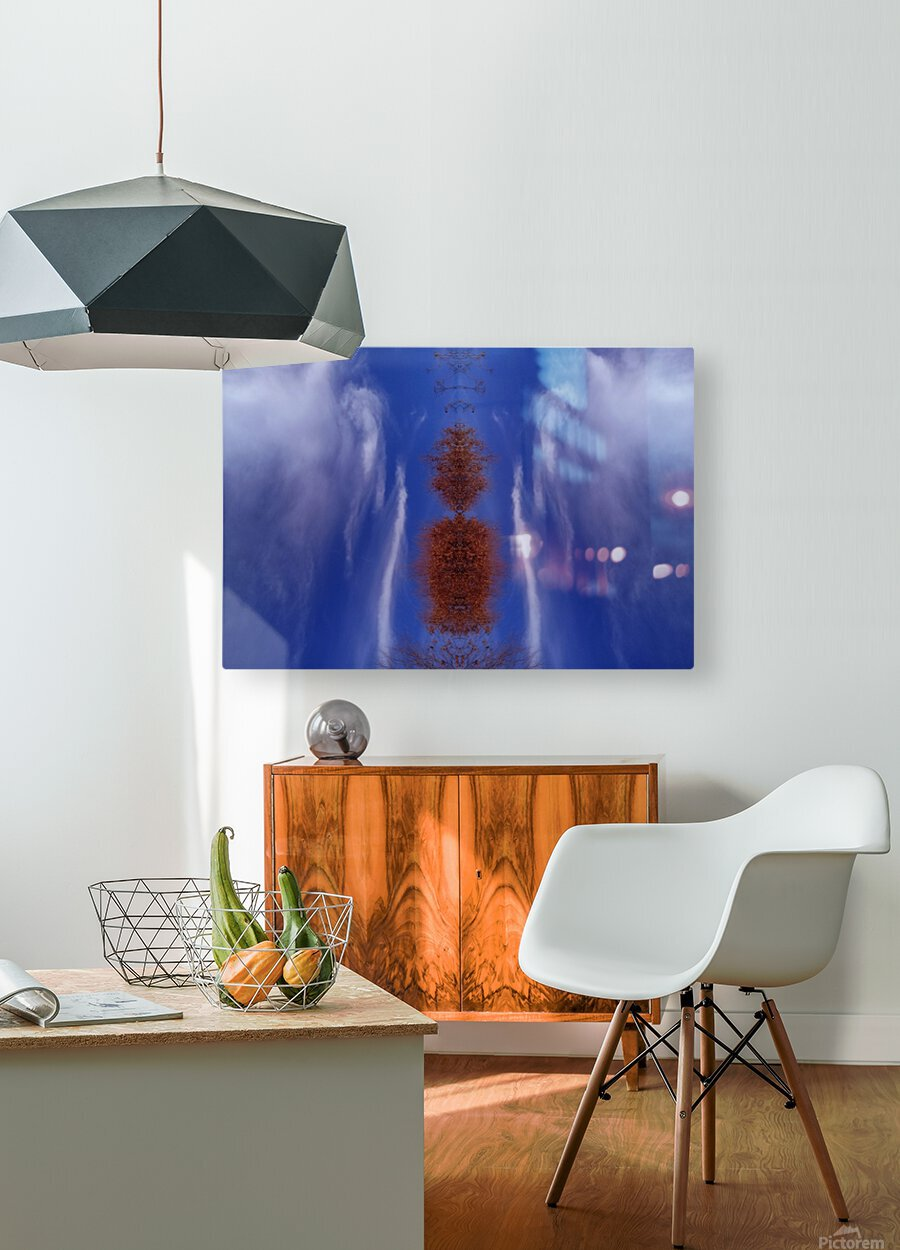 Cloudes 84  HD Metal print with Floating Frame on Back