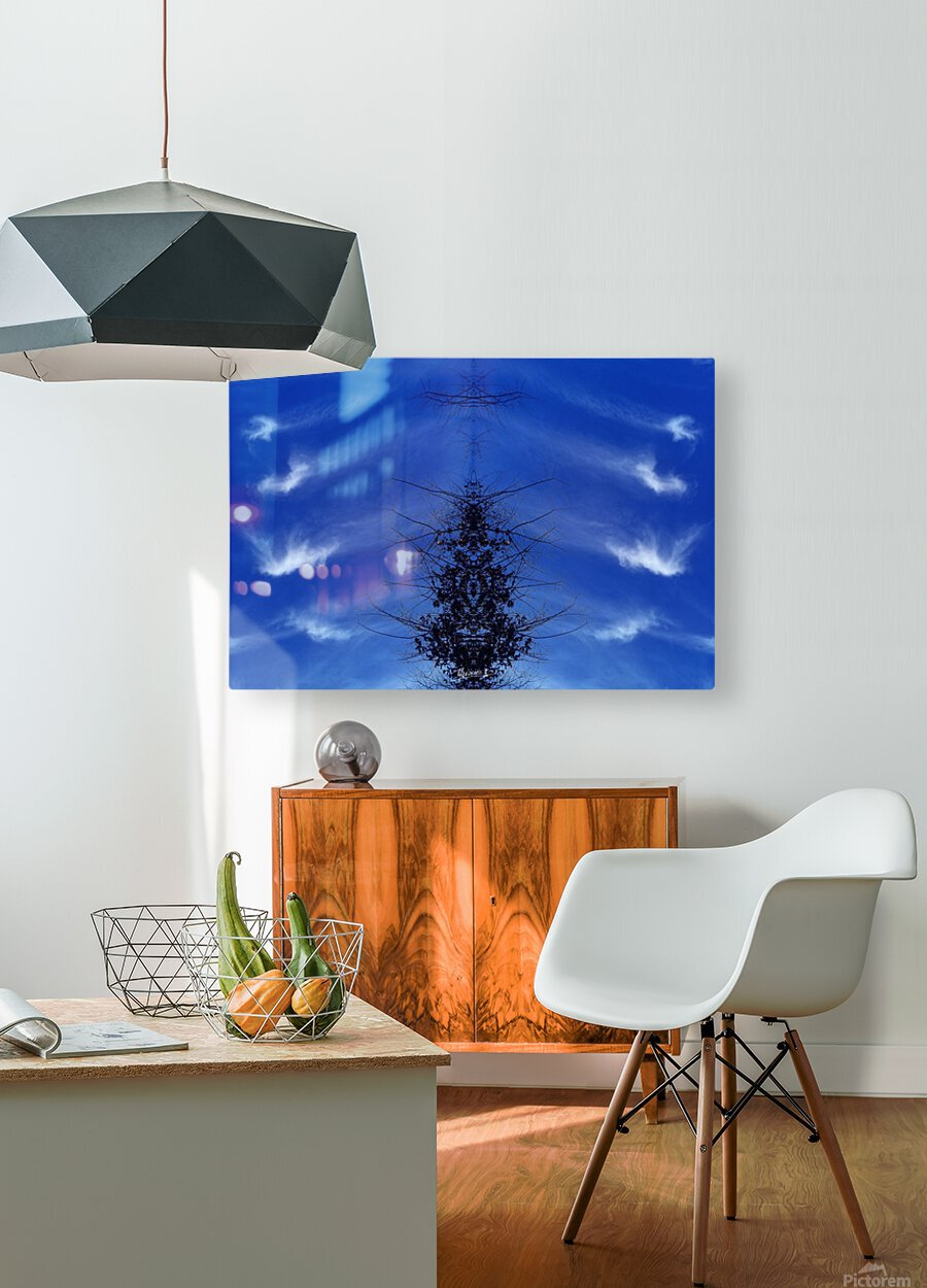 Cloudes 85  HD Metal print with Floating Frame on Back