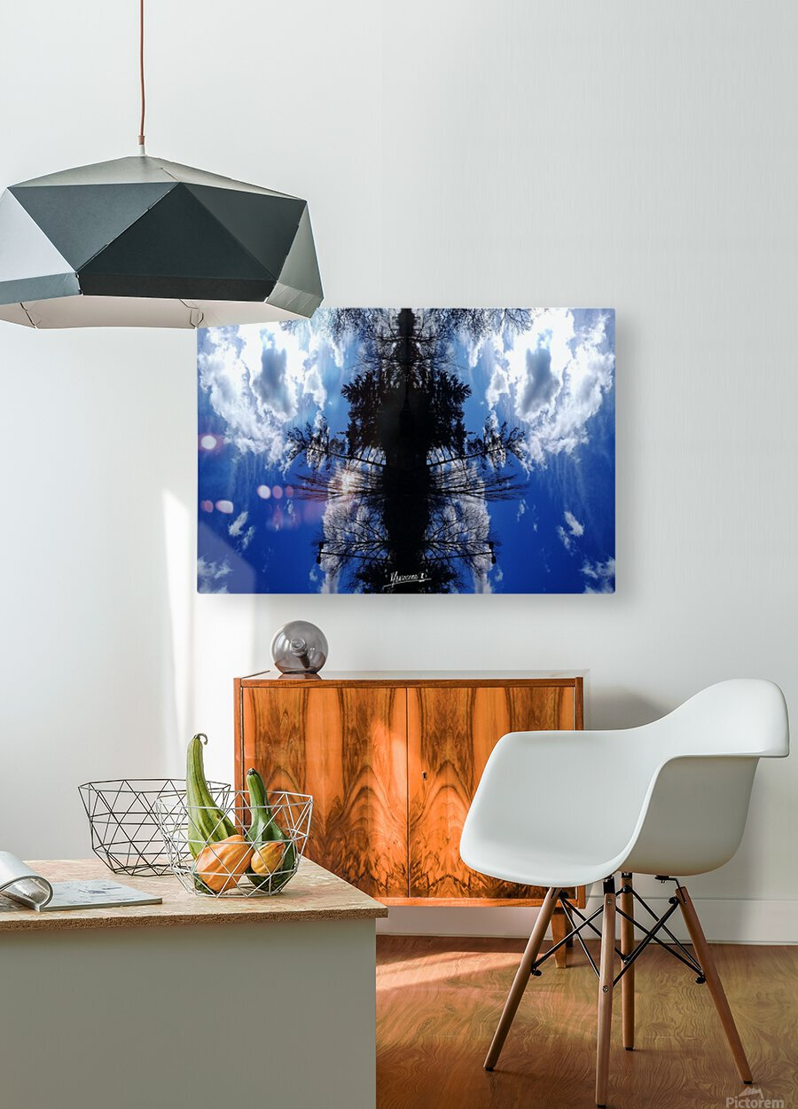 Cloudes 87  HD Metal print with Floating Frame on Back