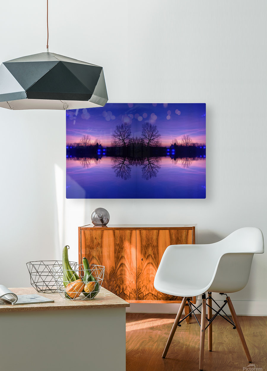Cloudes 91  HD Metal print with Floating Frame on Back