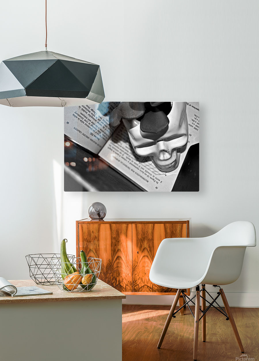 Box Me In  HD Metal print with Floating Frame on Back