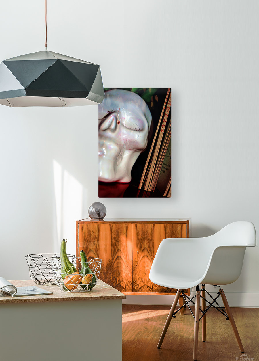 Gross Aroundings  HD Metal print with Floating Frame on Back