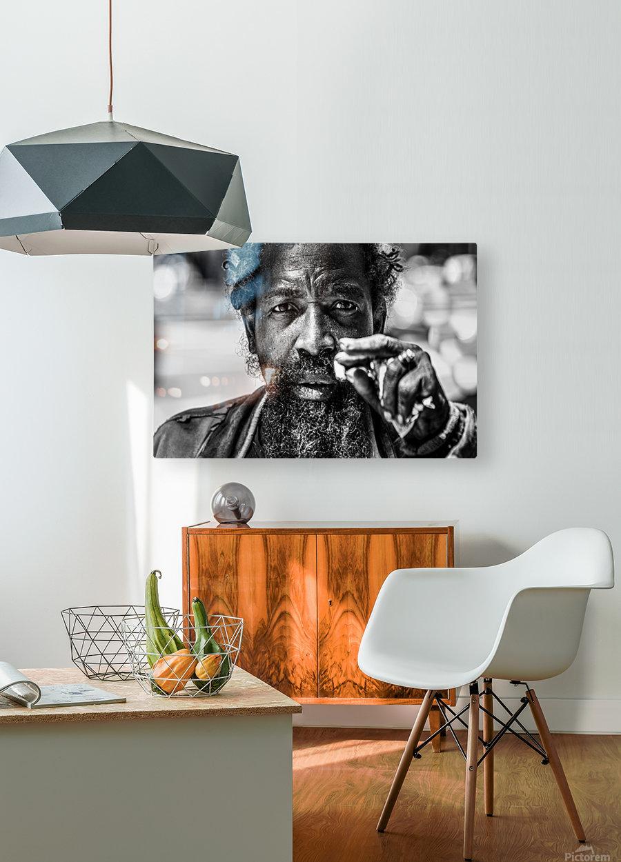 Temet Nosce  HD Metal print with Floating Frame on Back