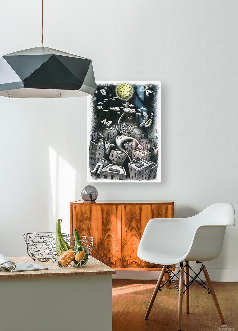 Somnambulist  HD Metal print with Floating Frame on Back