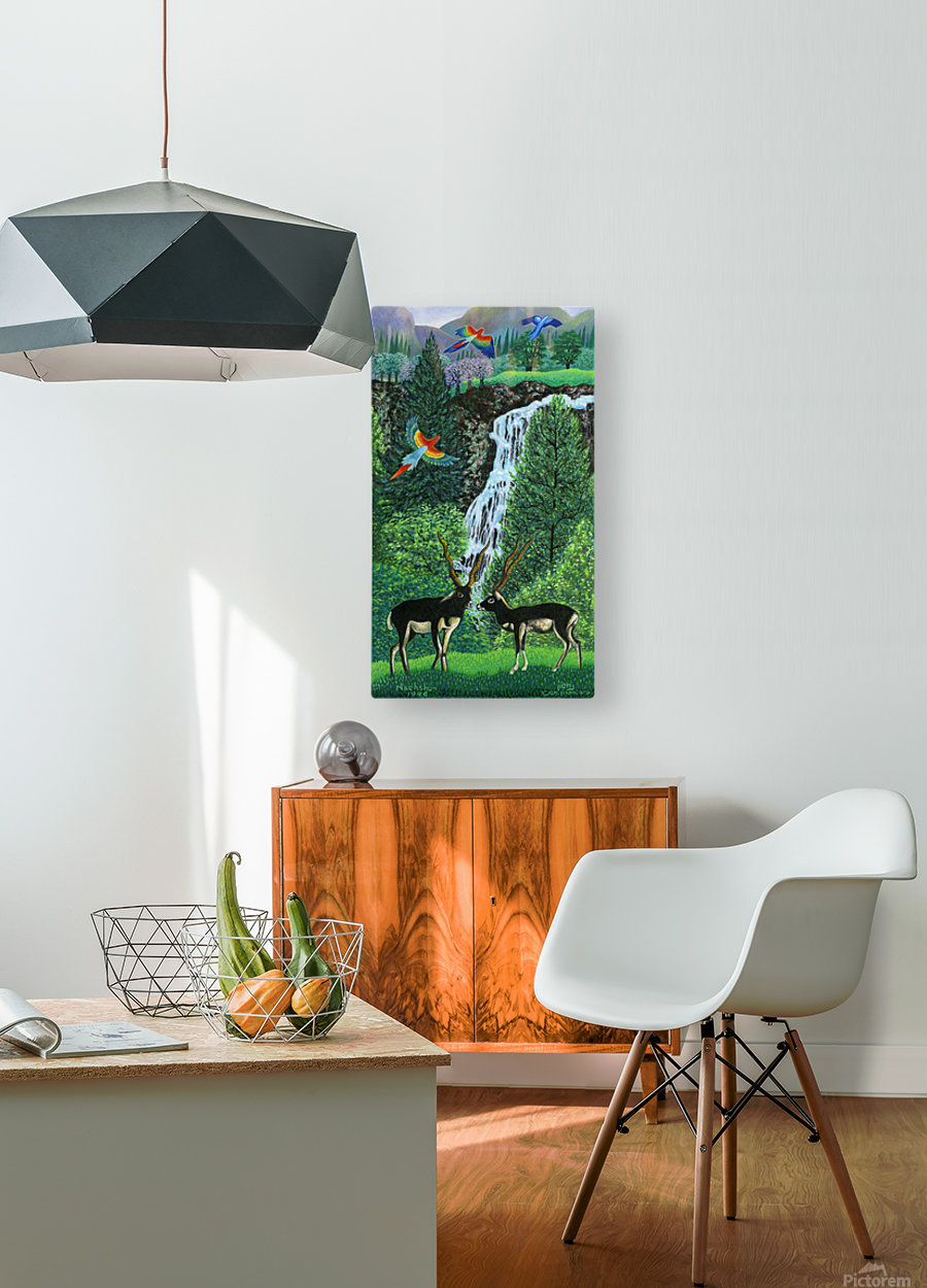 1996 032  HD Metal print with Floating Frame on Back