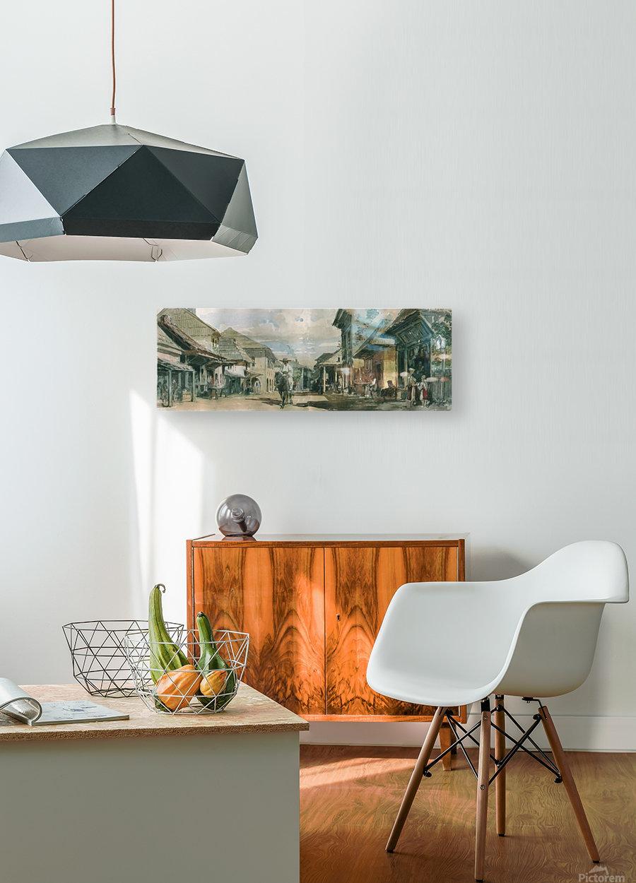 Cerneti  HD Metal print with Floating Frame on Back