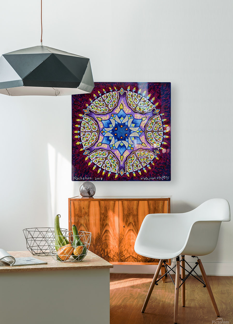 2018 048  HD Metal print with Floating Frame on Back