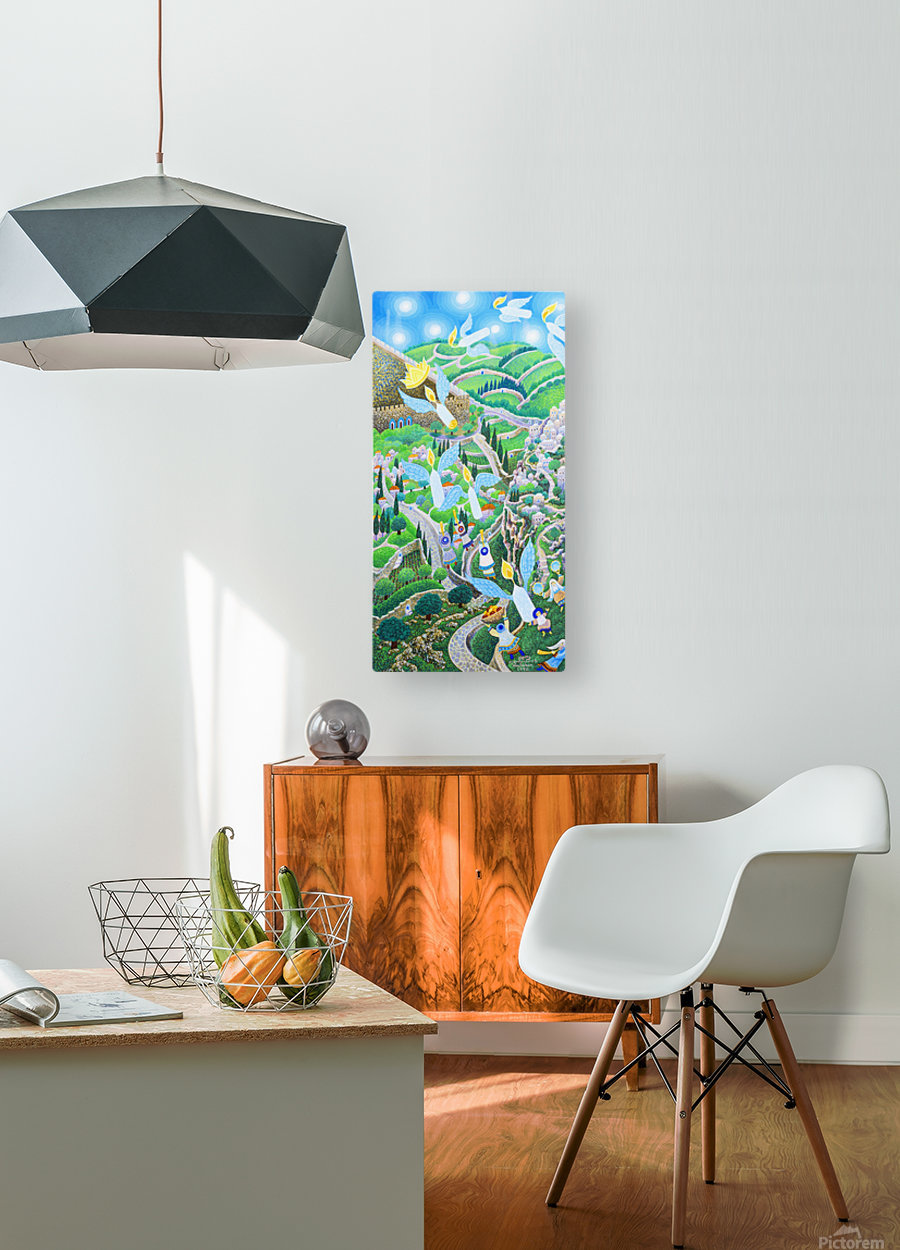 1992 04  HD Metal print with Floating Frame on Back
