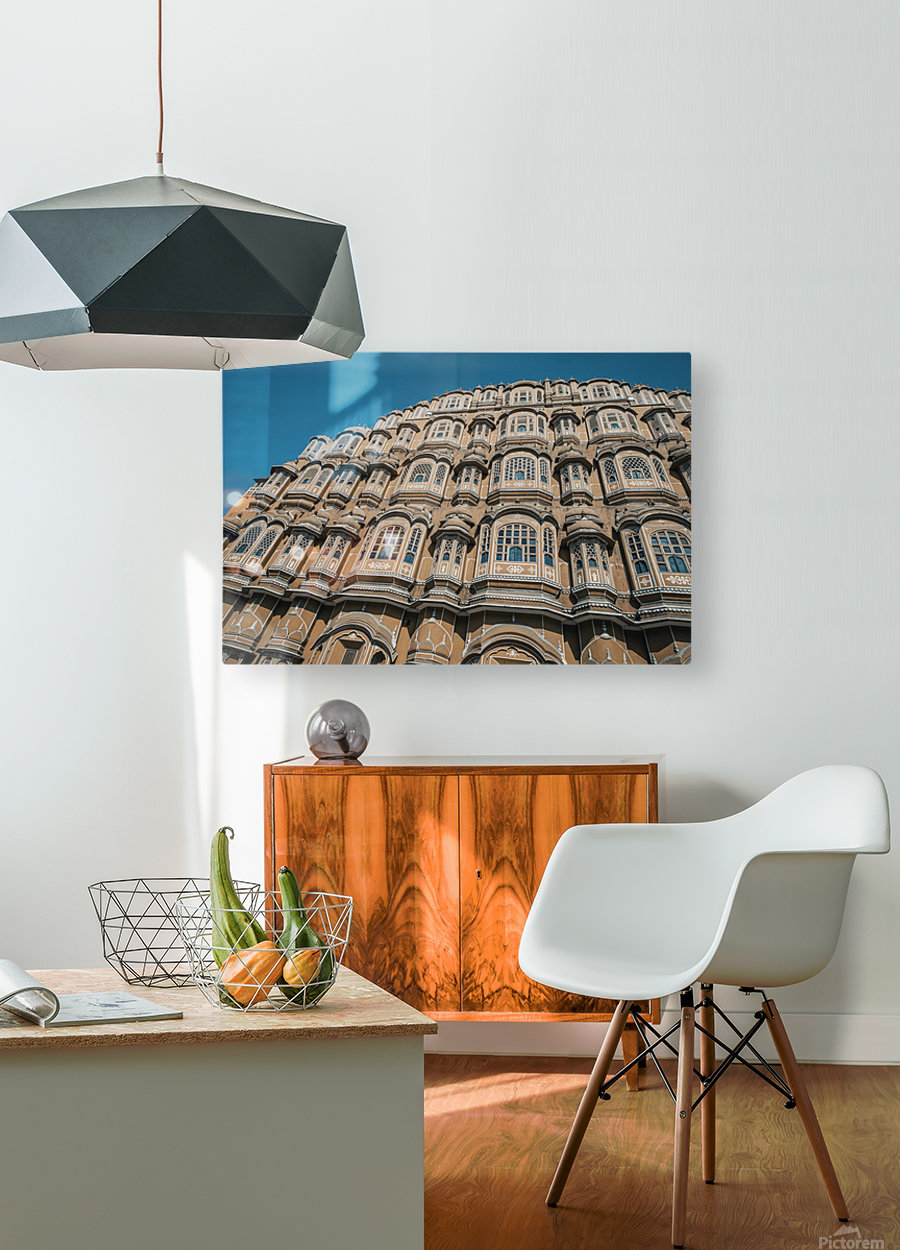 The Fortress - Hawa Mahal II  HD Metal print with Floating Frame on Back