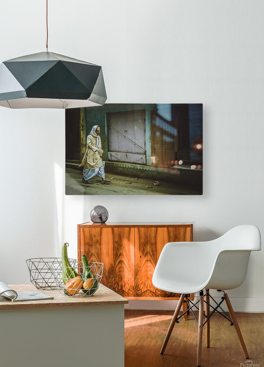 Varanasi Window - The Spy  HD Metal print with Floating Frame on Back