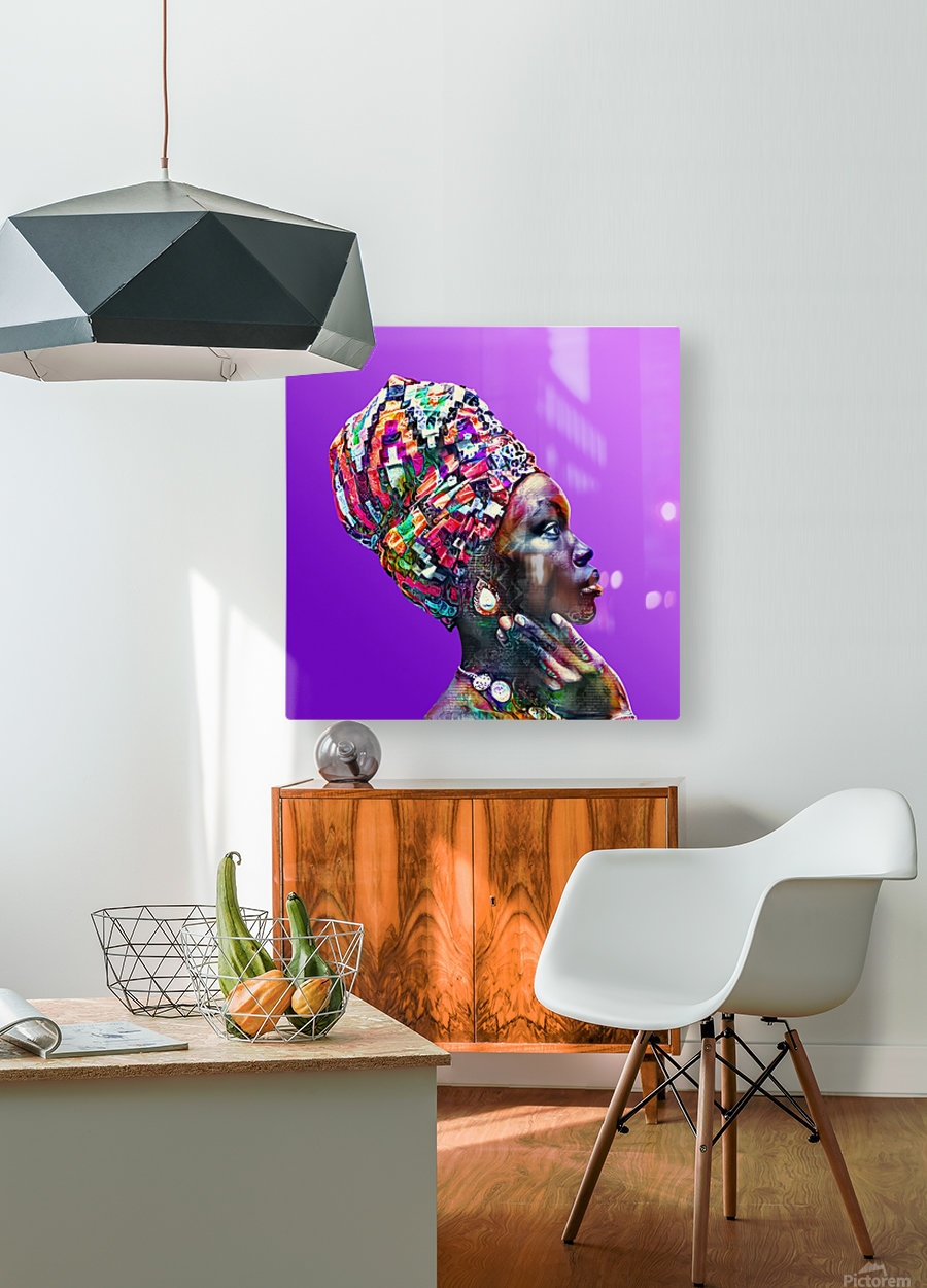 ColorThroughCulture VI  HD Metal print with Floating Frame on Back