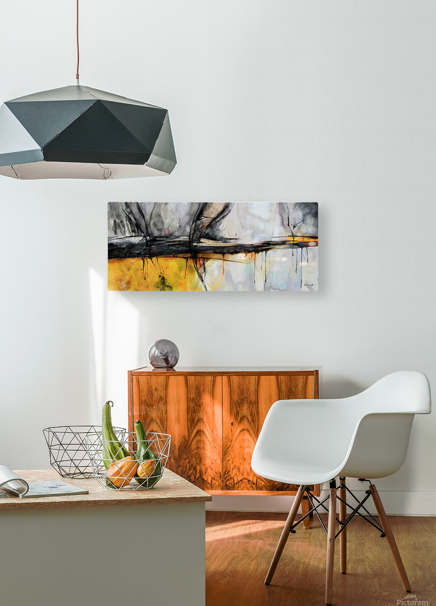 ESPACIOS TRUNCADOS  HD Metal print with Floating Frame on Back