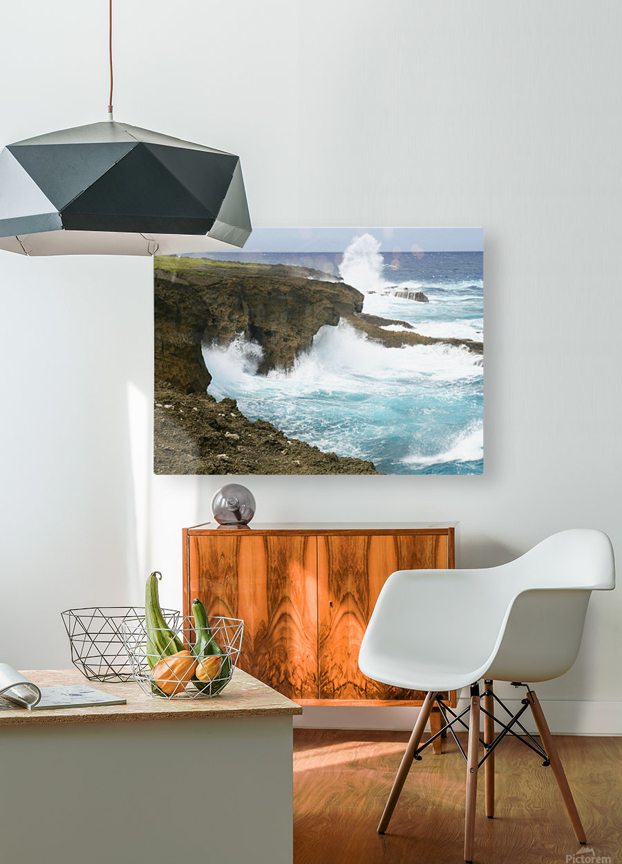 Mesmerizing Danger  HD Metal print with Floating Frame on Back