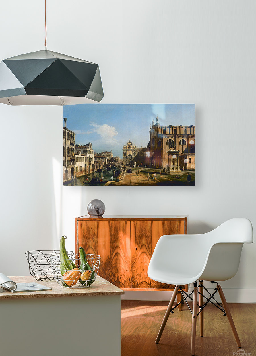 City moments  HD Metal print with Floating Frame on Back