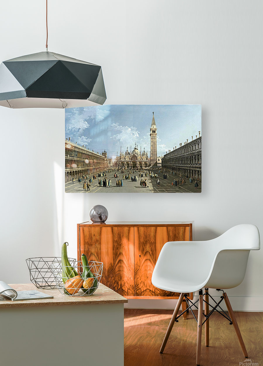 Piazza San Marco  HD Metal print with Floating Frame on Back