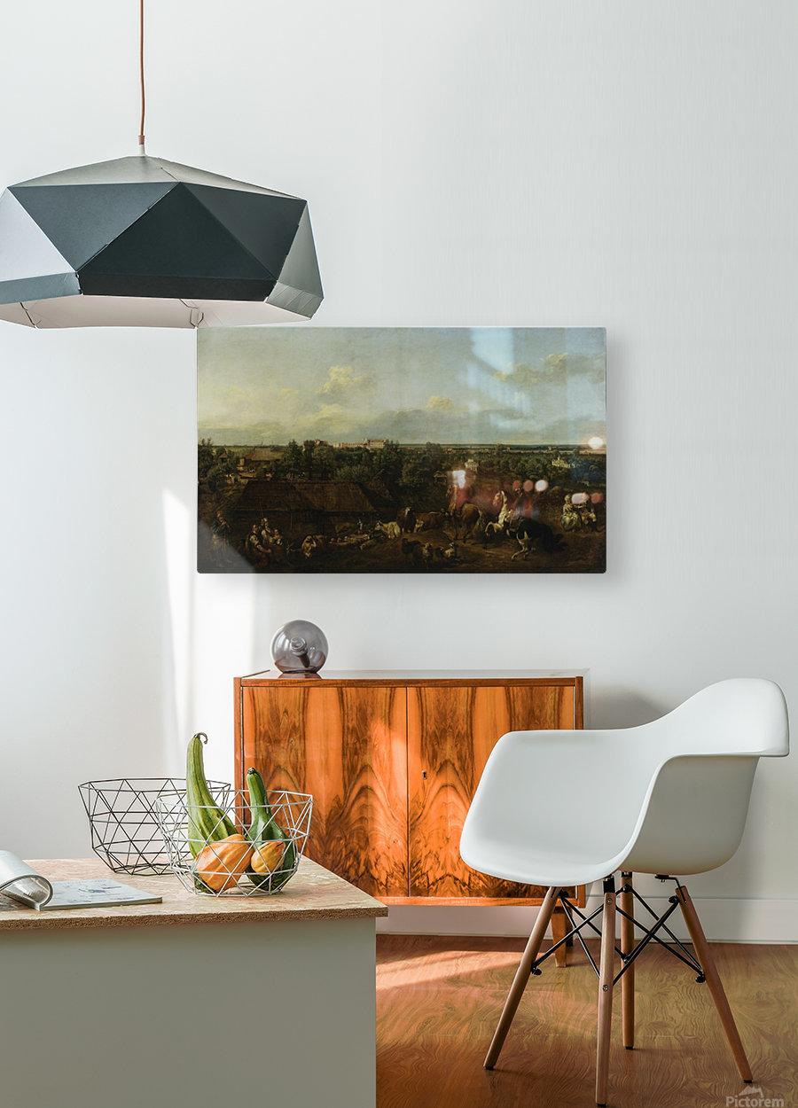 Ansicht kat  HD Metal print with Floating Frame on Back