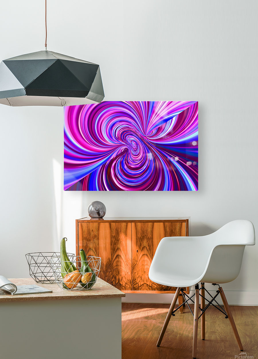 PERSPECTIVES 5D  HD Metal print with Floating Frame on Back