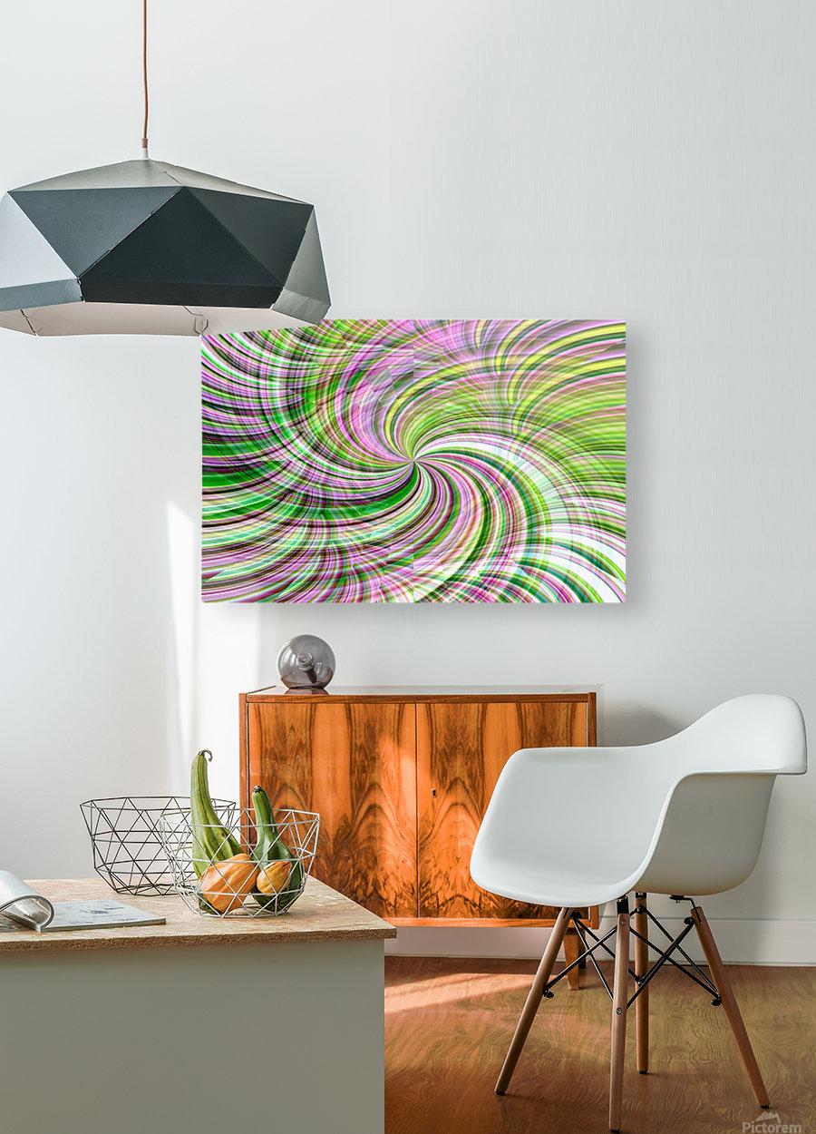 WHIRLWIND 1  HD Metal print with Floating Frame on Back