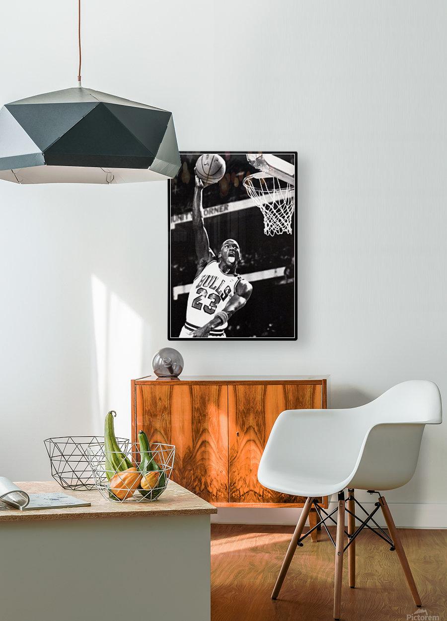 Michael Jordan Art Print  HD Metal print with Floating Frame on Back
