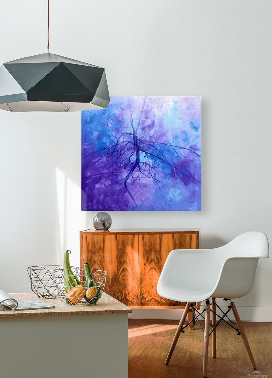 Hero4  HD Metal print with Floating Frame on Back