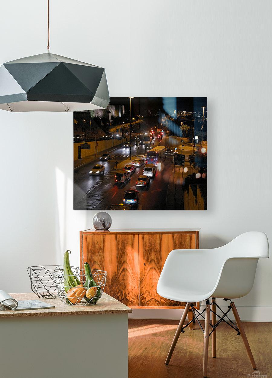 Jerusalem  HD Metal print with Floating Frame on Back
